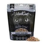 Vital Essentials Vital Essentials Cat Mini Nibs Rabbit 12 OZ