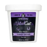 Vital Essentials Vital Essentials Cat Frozen Raw Turkey 14 OZ Tub