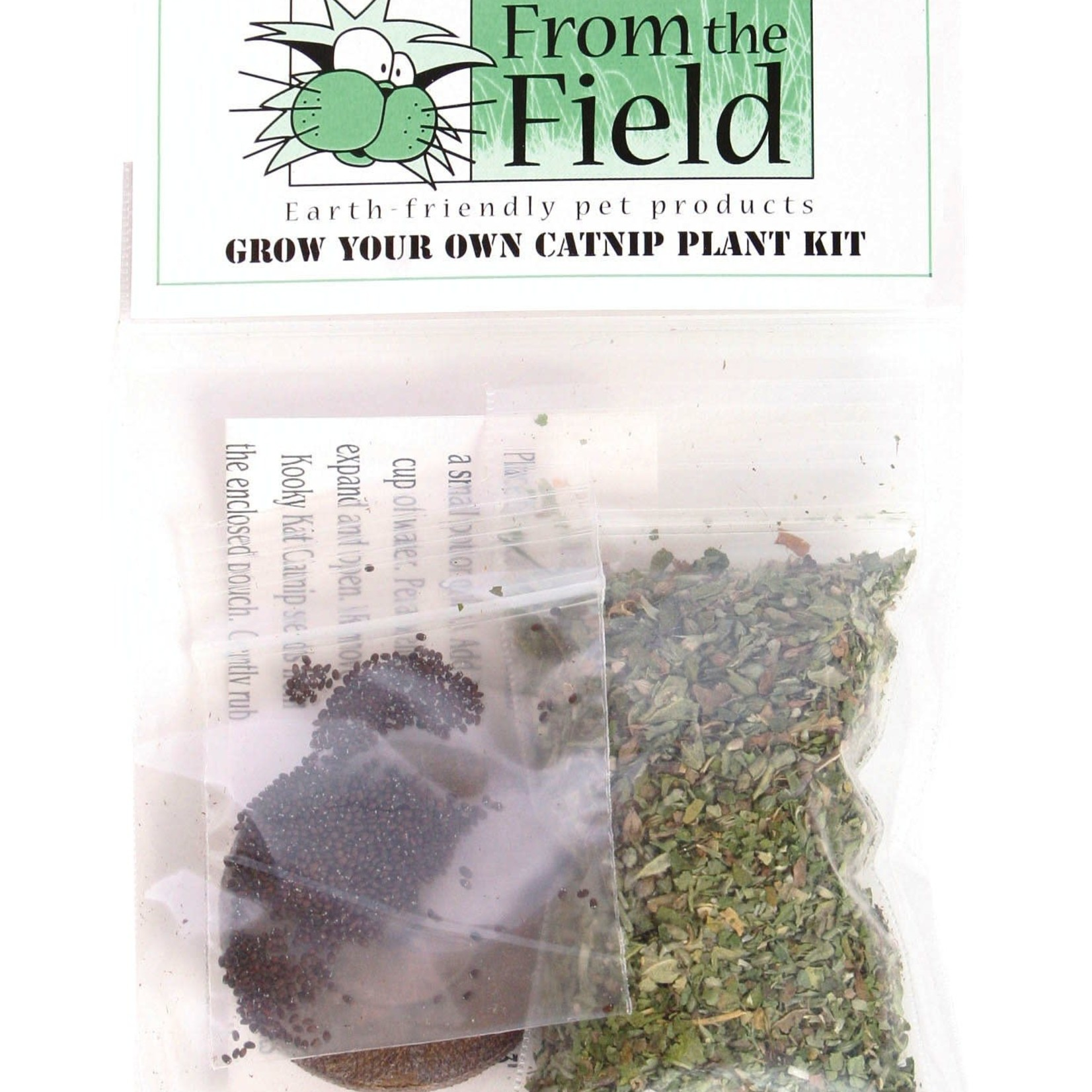 From The Field From The Field Grow Your Own Catnip Kit