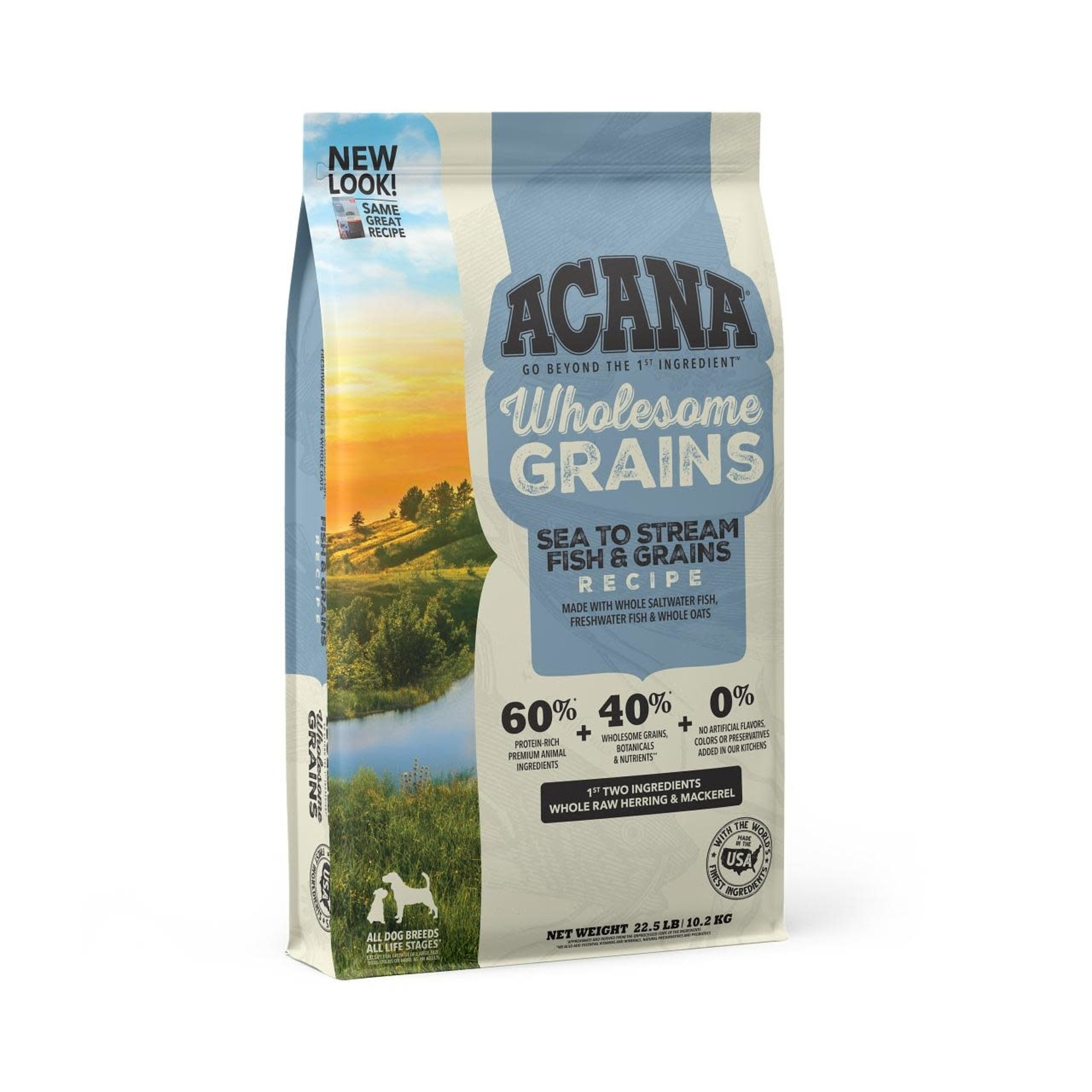Champion Pet Foods Acana Dog Wholesome Grains Sea To Stream 22.5#