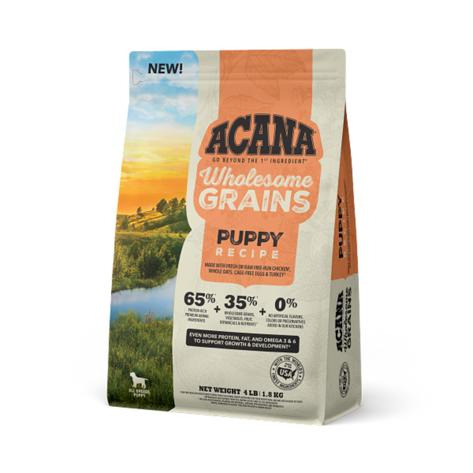 Champion Pet Foods Acana Dog Wholesome Grains Puppy 4#