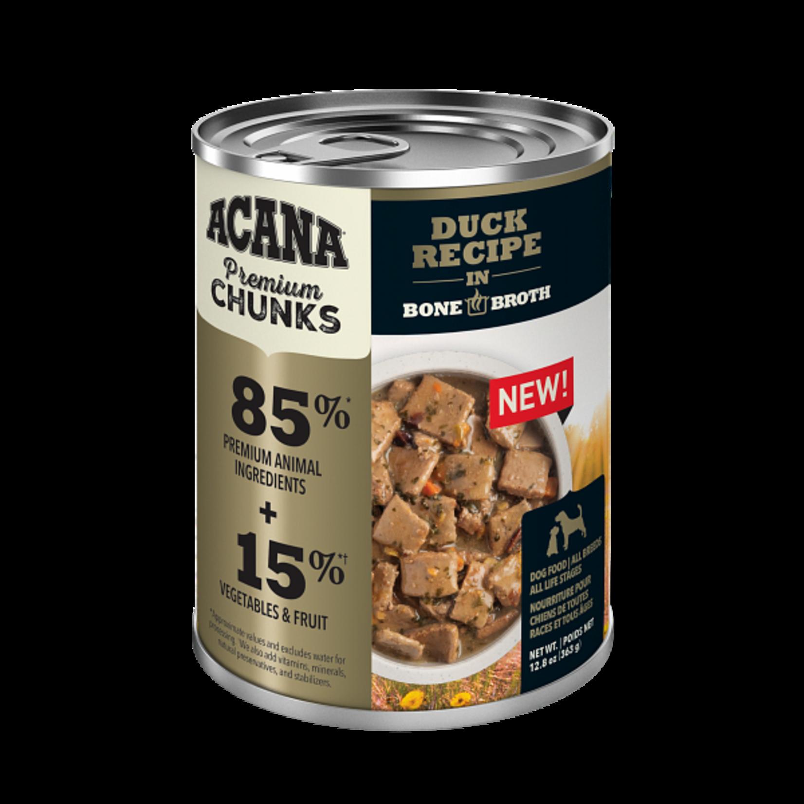 Champion Pet Foods Acana Dog Grain Free Chunks Duck 12.8 OZ