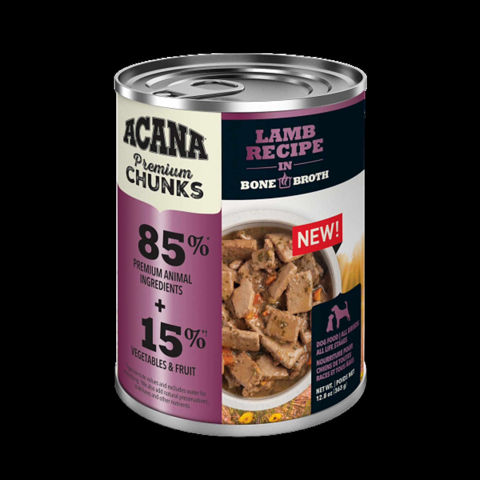 Champion Pet Foods Acana Dog Grain Free Chunks Lamb 12.8 OZ