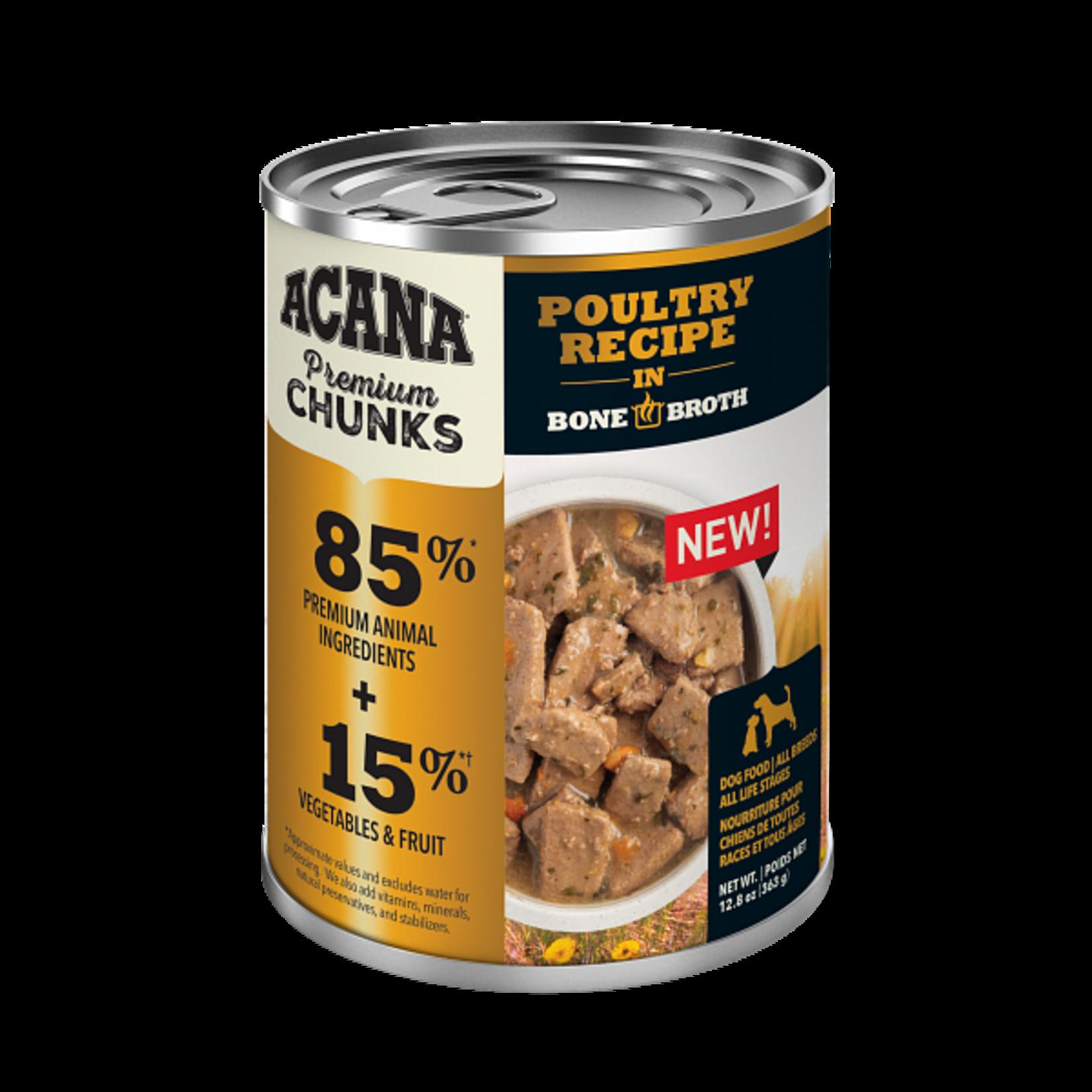 Champion Pet Foods Acana Dog Grain Free Chunks Poultry 12.8 OZ