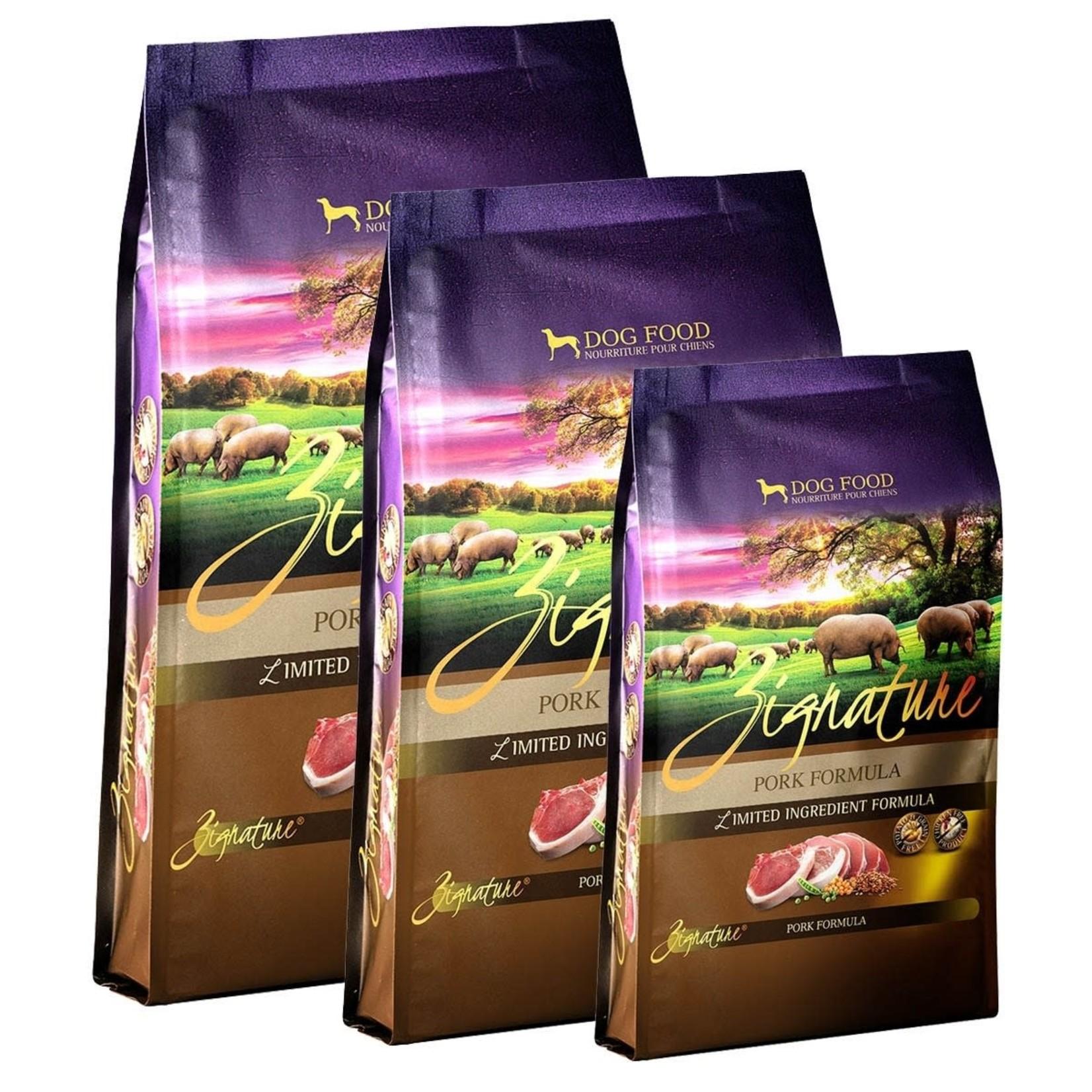 VIP Products / Tuffy Zignature Dog Grain Free Pork 25#