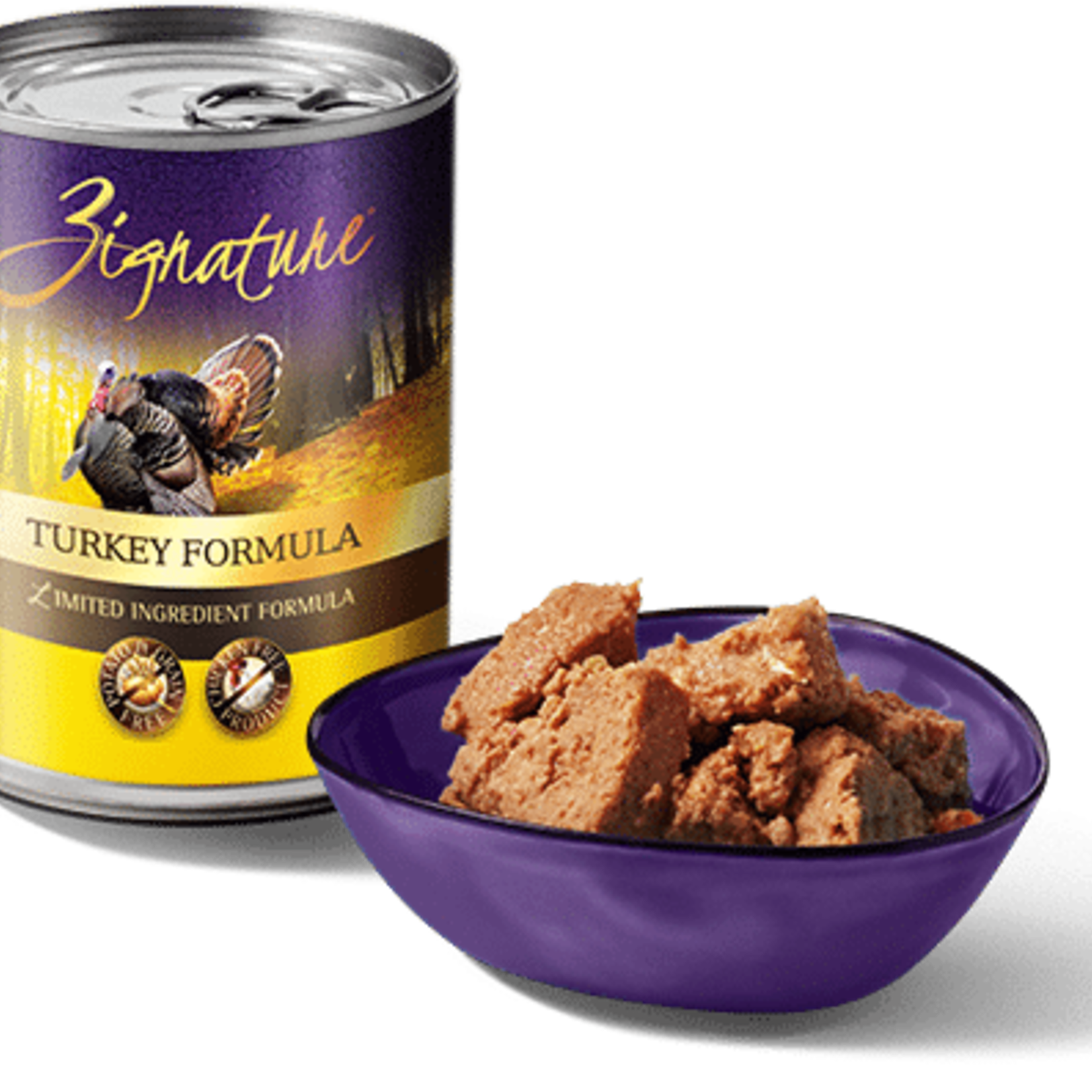 Zignature / Pets Global Zignature Dog Grain Free Turkey 13 OZ