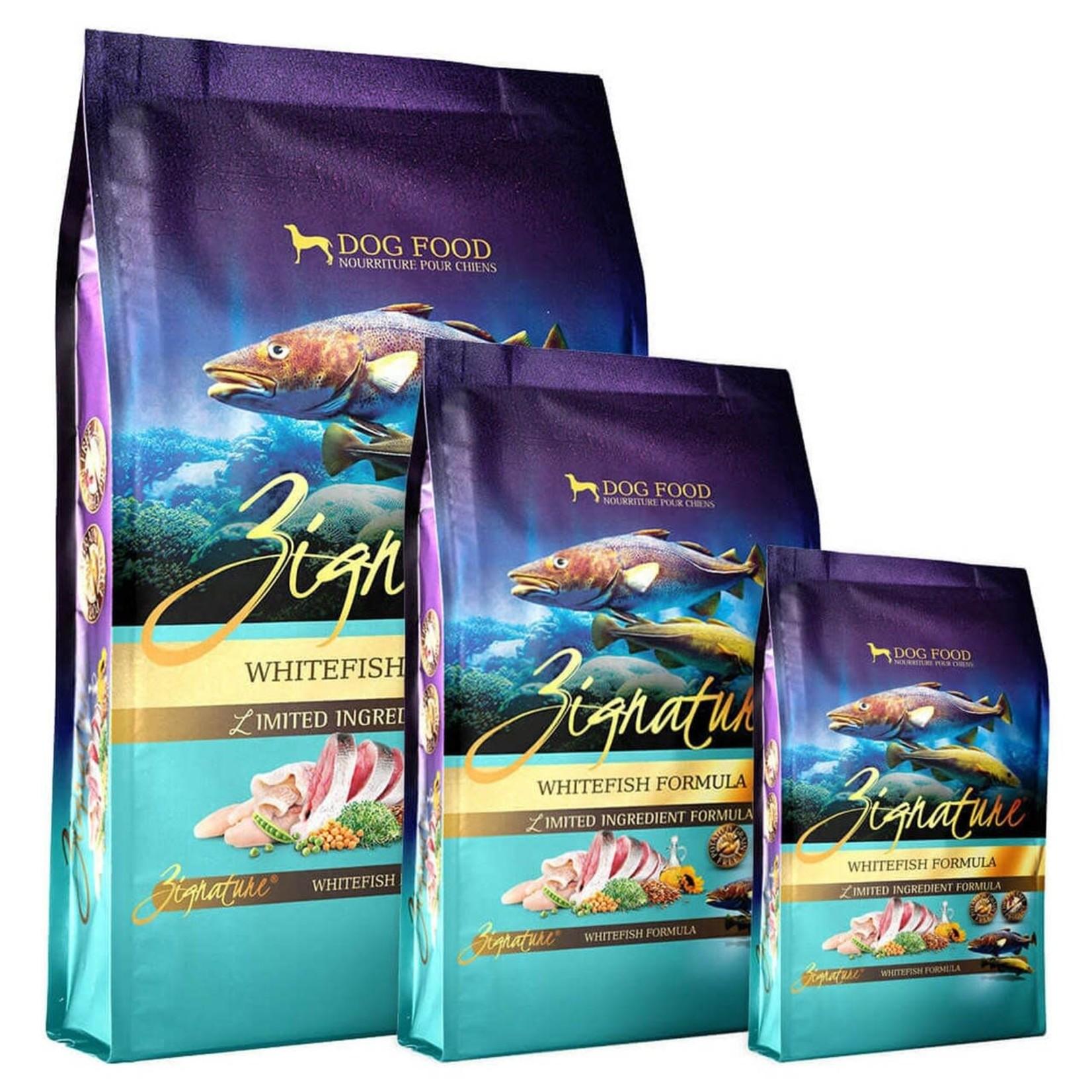 Zignature / Pets Global Zignature Dog Grain Free Whitefish 12.5#