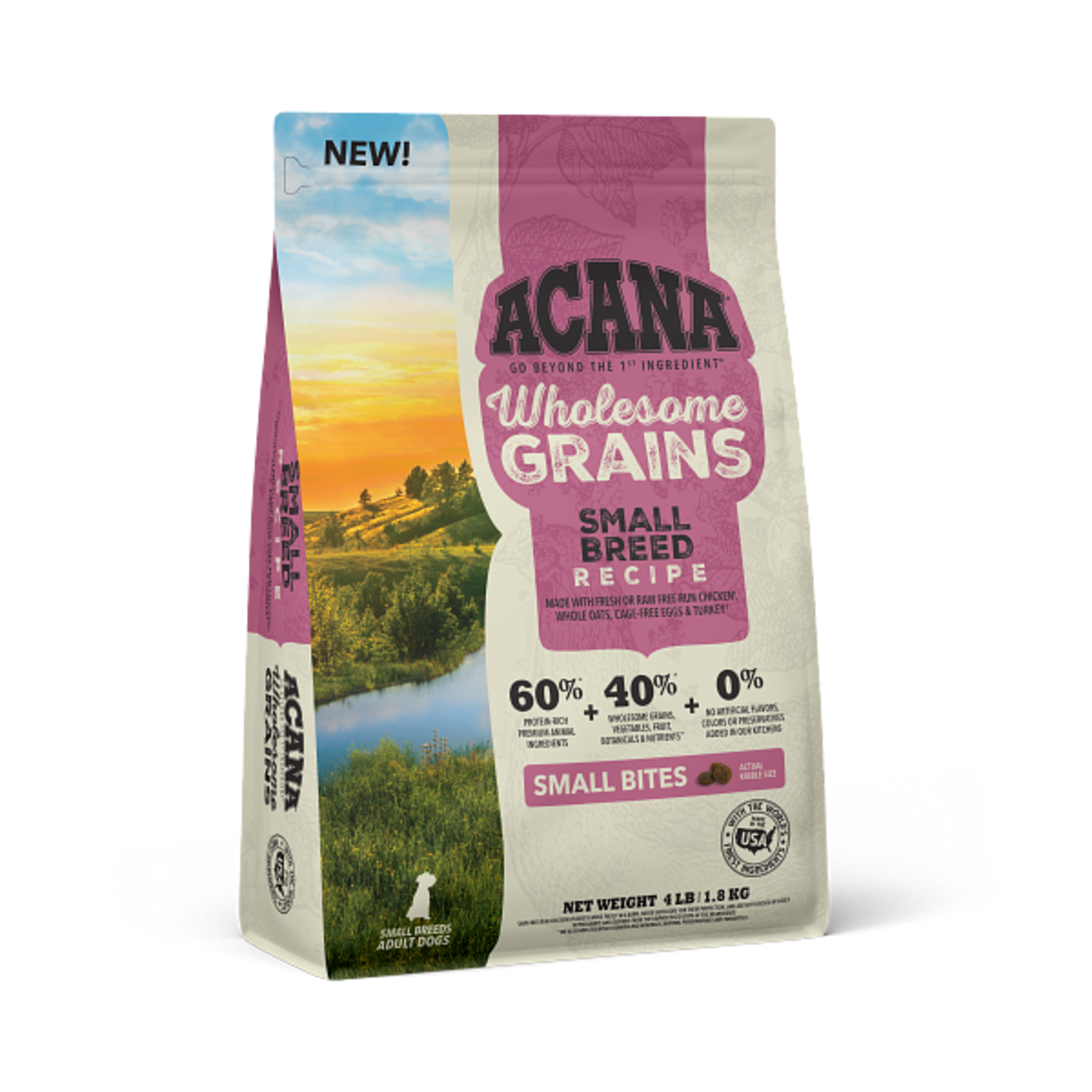 Champion Pet Foods Acana Dog  Wholesome Grains Small Breed 4#