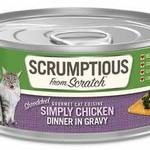 Scrumptious Scrumptious Cat Chicken & Gravy 2.8 OZ