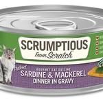 Scrumptious Scrumptious Cat Sardine & Mackerel Gravy 2.8 OZ
