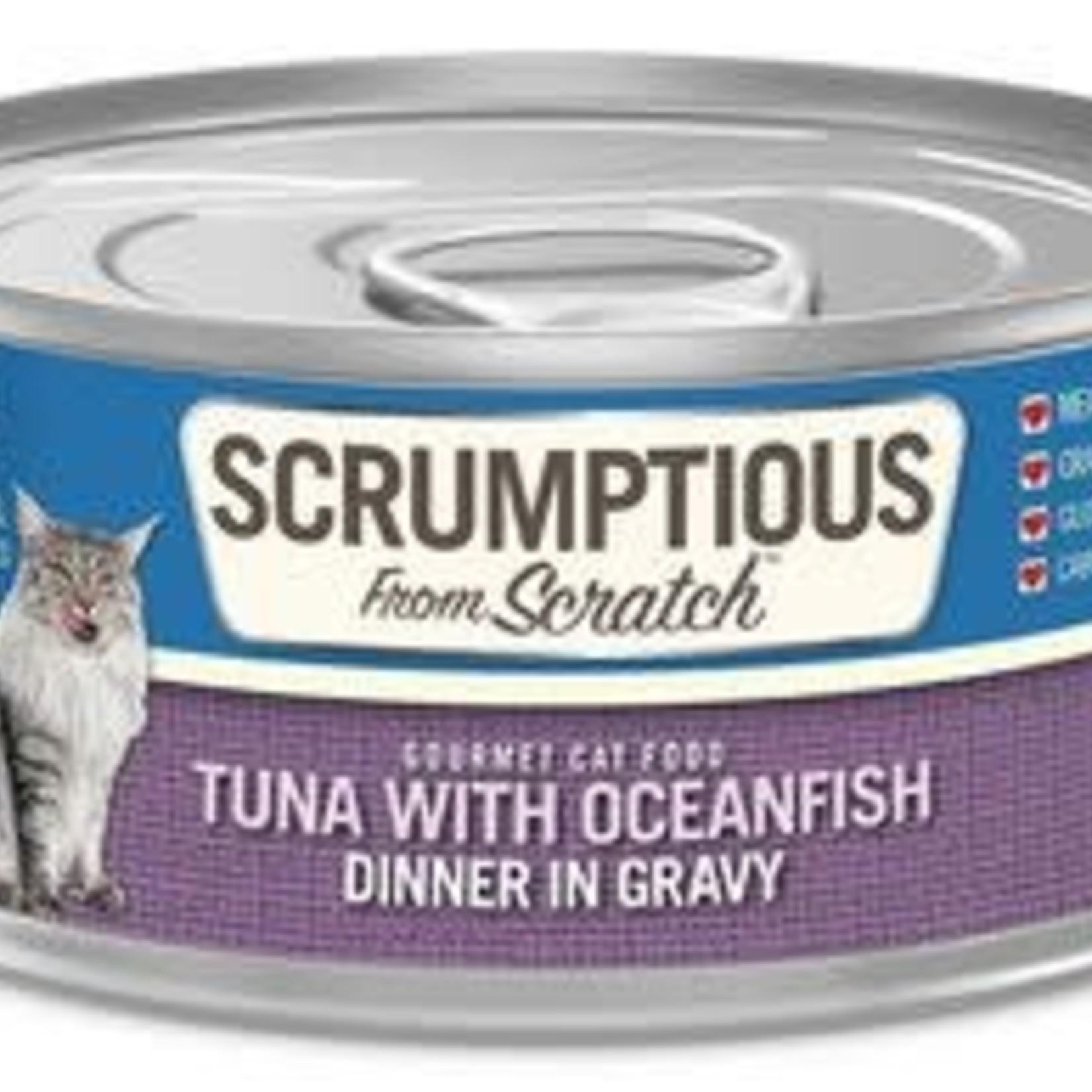 Scrumptious Scrumptious Cat Tuna & Oceanfish 2.8 OZ