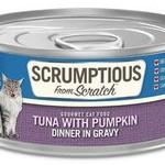 Scrumptious Scrumptious Cat Tuna & Pumpkin 2.8 OZ