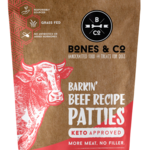 Bones & Co Bones & CO Frozen Raw Beef Patties 6#