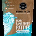Bones & Co Bones & CO Frozen Raw Lamb Patties 6#