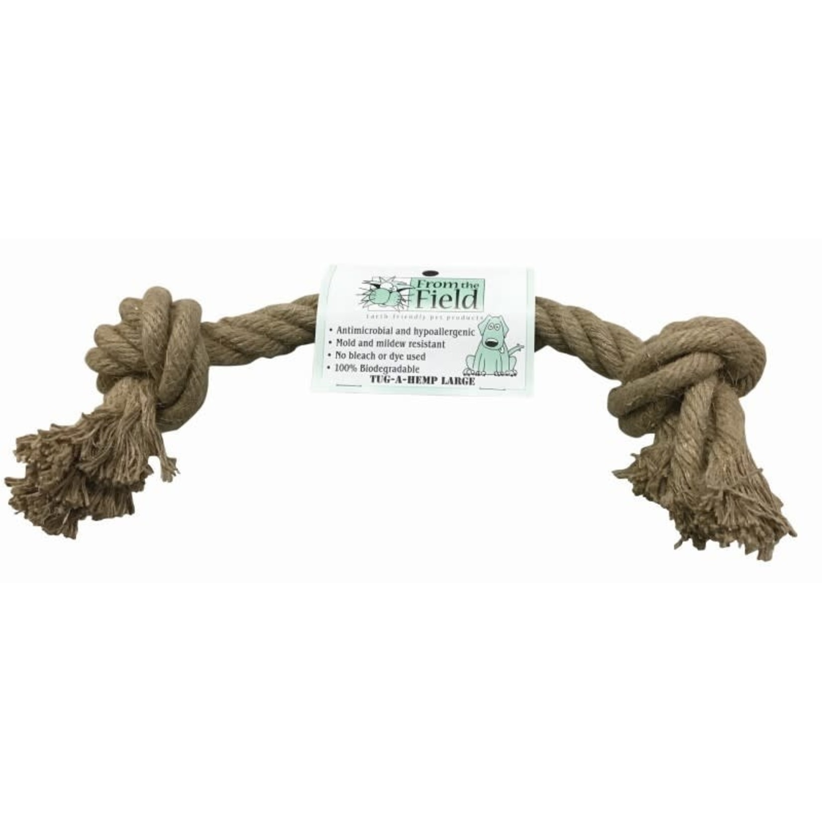 From The Field From The Field Dog Tug-A-Hemp Rope Large