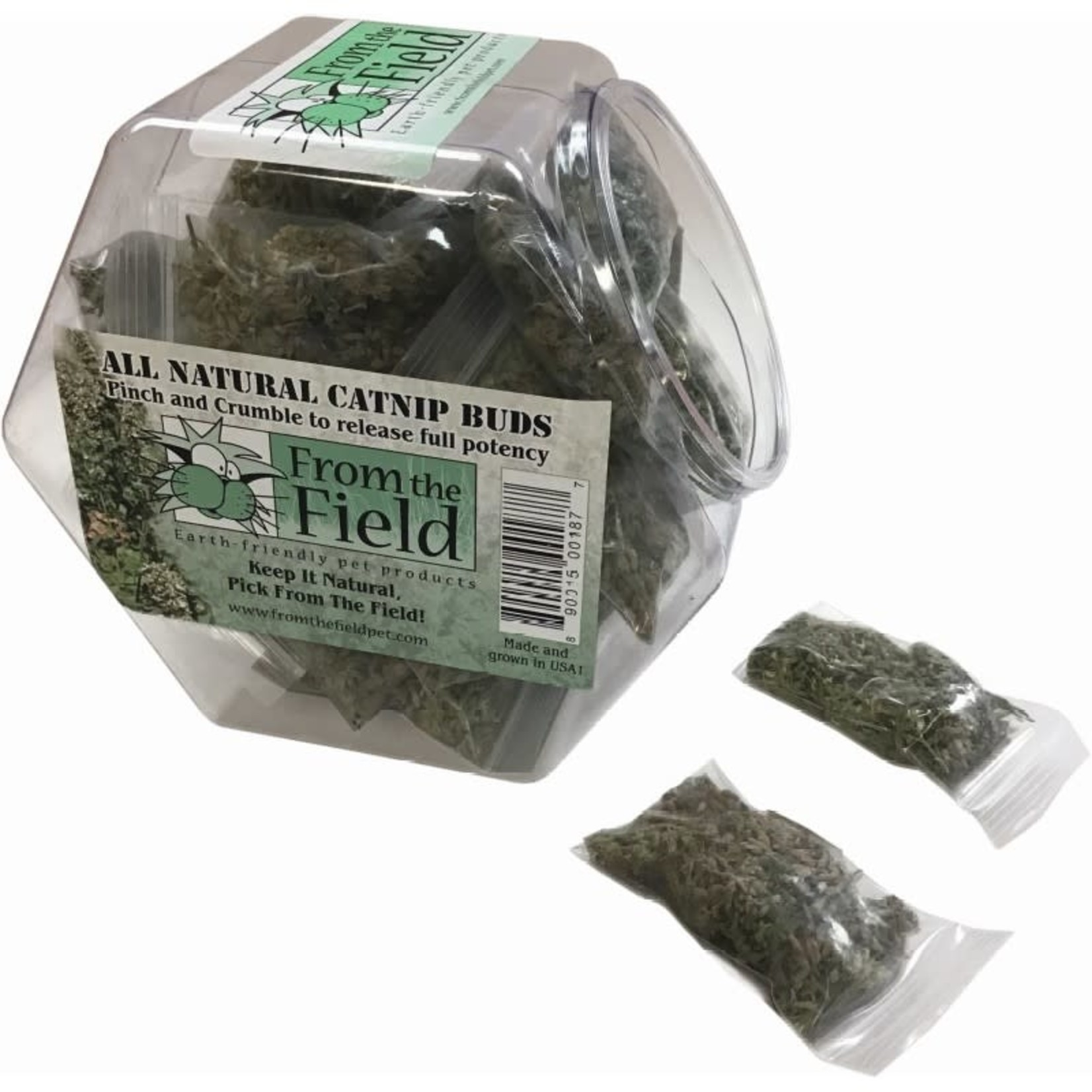 From The Field From The Field All Natural Catnip Buds .2 OZ Bag