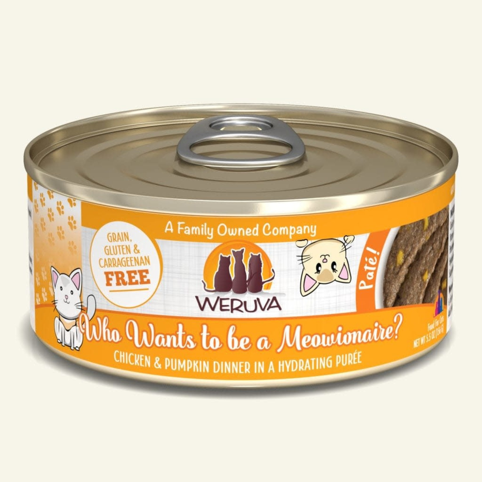 Weruva Weruva Cat Who Wants To Be A Meowionaire Pate 5.5 OZ
