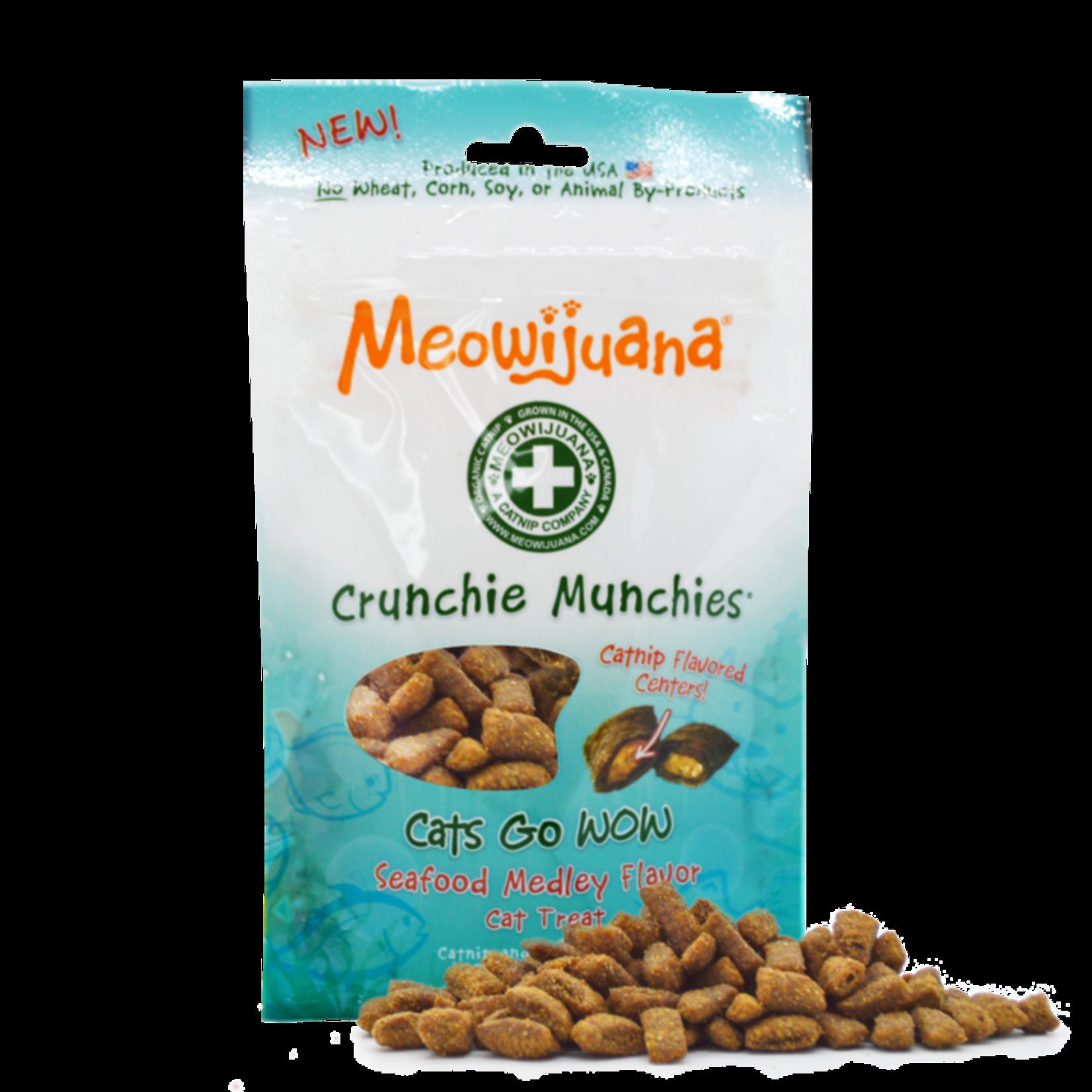 Meowijuana Meowijuana Catnip Crunchie Munchie Seafood 3 OZ