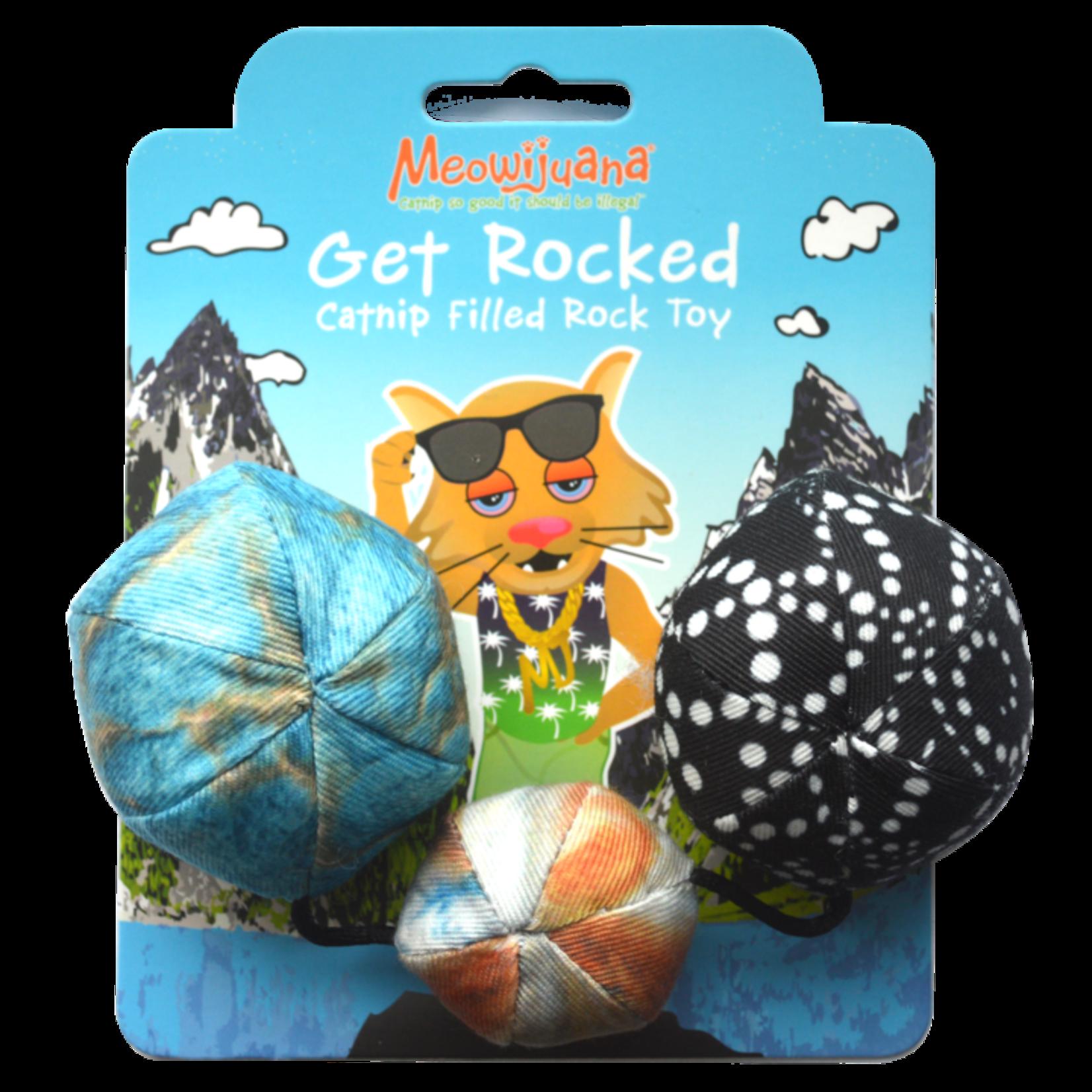 Meowijuana Meowijuana Catnip Get Rocked String of Stones
