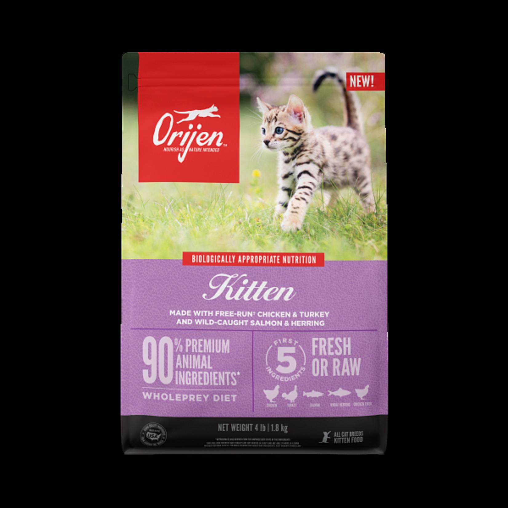 Champion Pet Foods Orijen Grain Free Kitten 4#