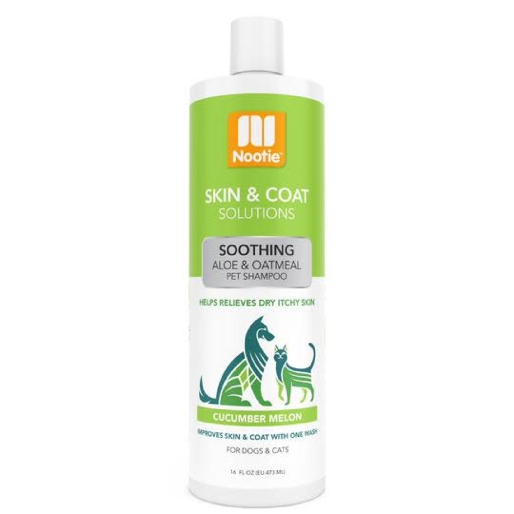 Nootie Shampoo Soothing Cucumber Melon 16 OZ