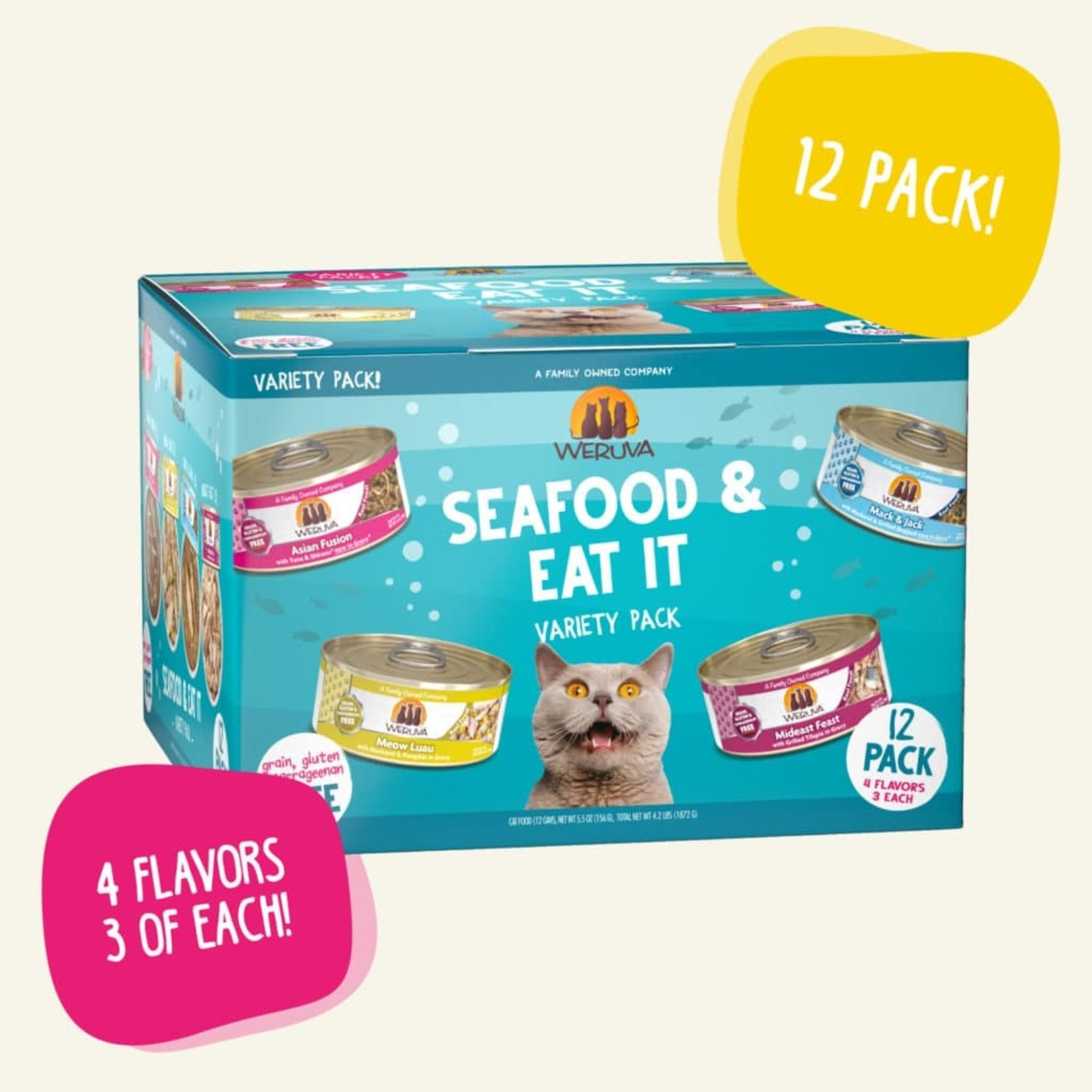 Weruva Weruva Cat Seafood and Eat It Variety Pack