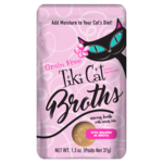 Tiki Pets Tiki Cat Broth Salmon 1.3 OZ Pouch