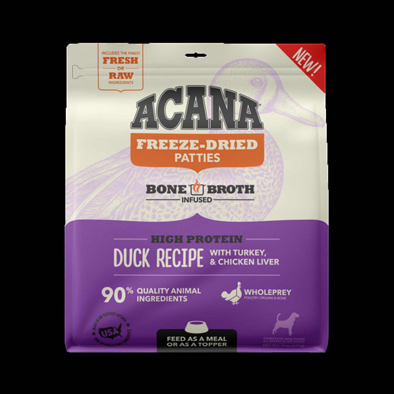Champion Pet Foods Acana Dog Freeze-dried Duck Morsels 8 OZ