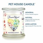 Pet House - One Fur All Pet House Furever Loved Memorial Candle 8.5 OZ
