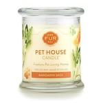 Pet House - One Fur All Pet House Mandarin Sage Candle 8.5 OZ