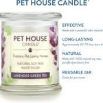 Pet House - One Fur All Pet House Lavender Green Tea Candle 8.5 OZ