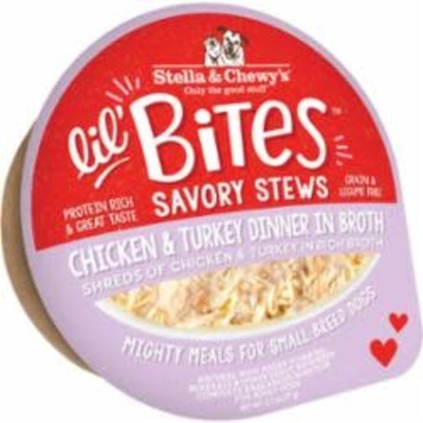 Stella & Chewys Stella & Chewys Lil Bites Stew Chicken & Turkey 2.7 OZ