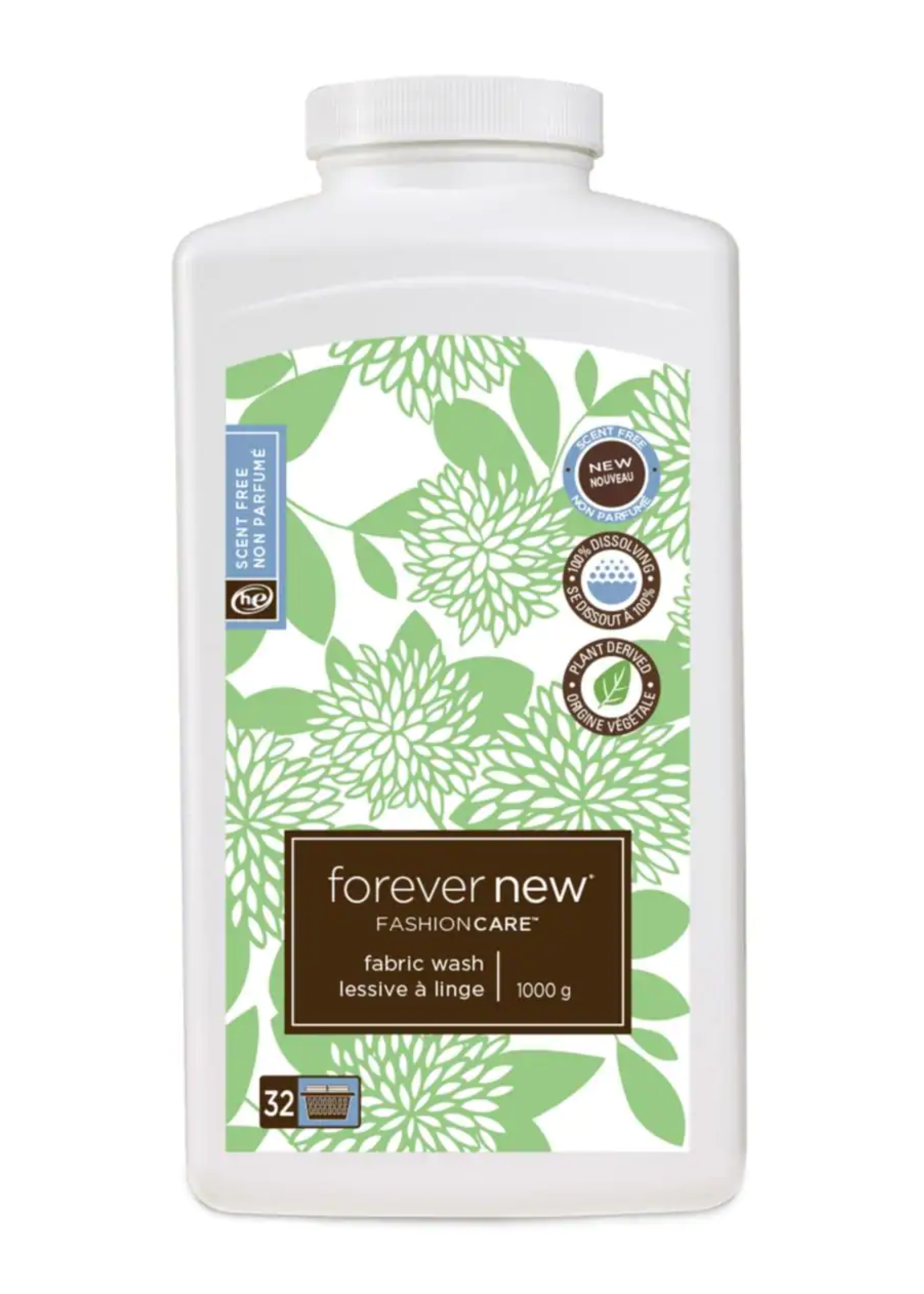 Forever New Unscented Powder Detergent Large 1000g