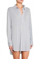Eberjey Nordic Stripes Sleepshirt