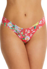 Hanky Panky Low Rise Thong: Printed