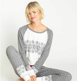 PJ Salvage Snowed In Fair Isle PJ