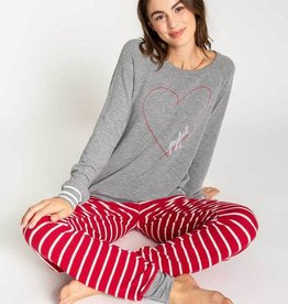 PJ Salvage Joyful Hearts Women's PJ