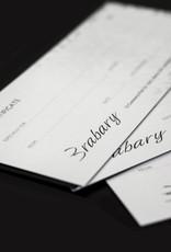 Brabary Gift Certificate