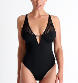 Shan Morioka Cross Back Swimsuit