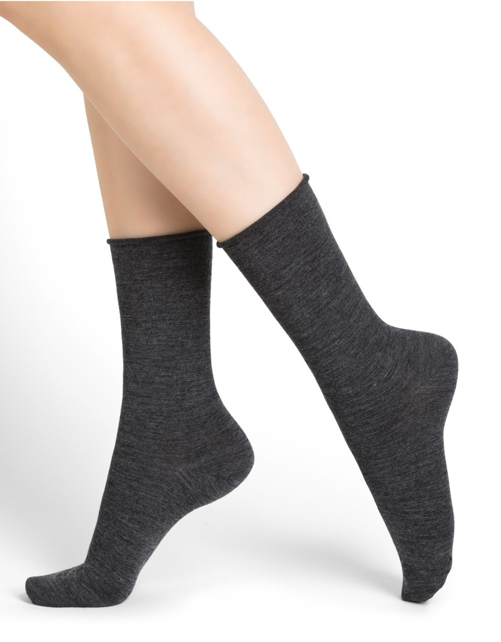 Bleuforet Fine Wool Socks with Cotton Inside