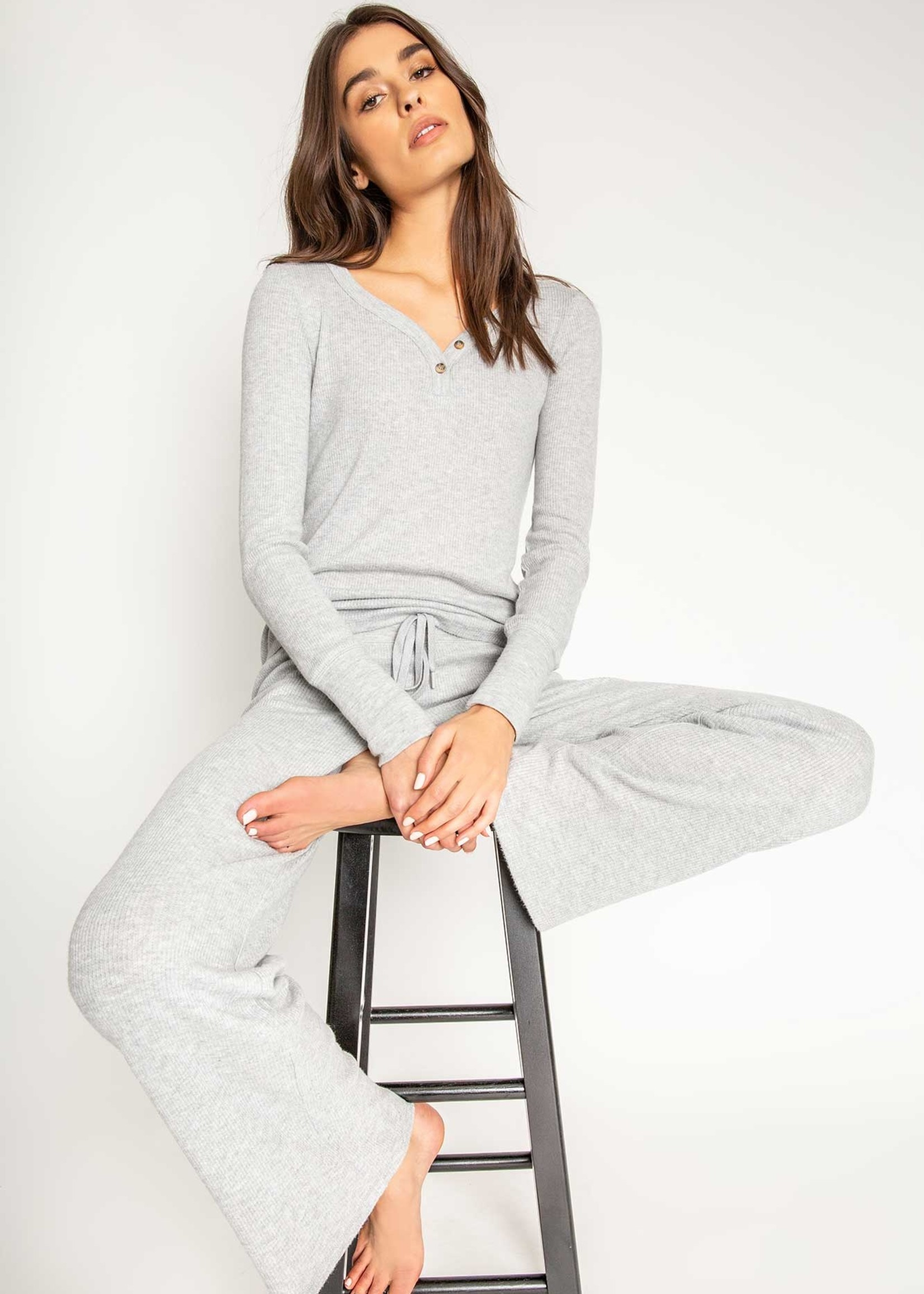 PJ Salvage Textured Basics Pant Set