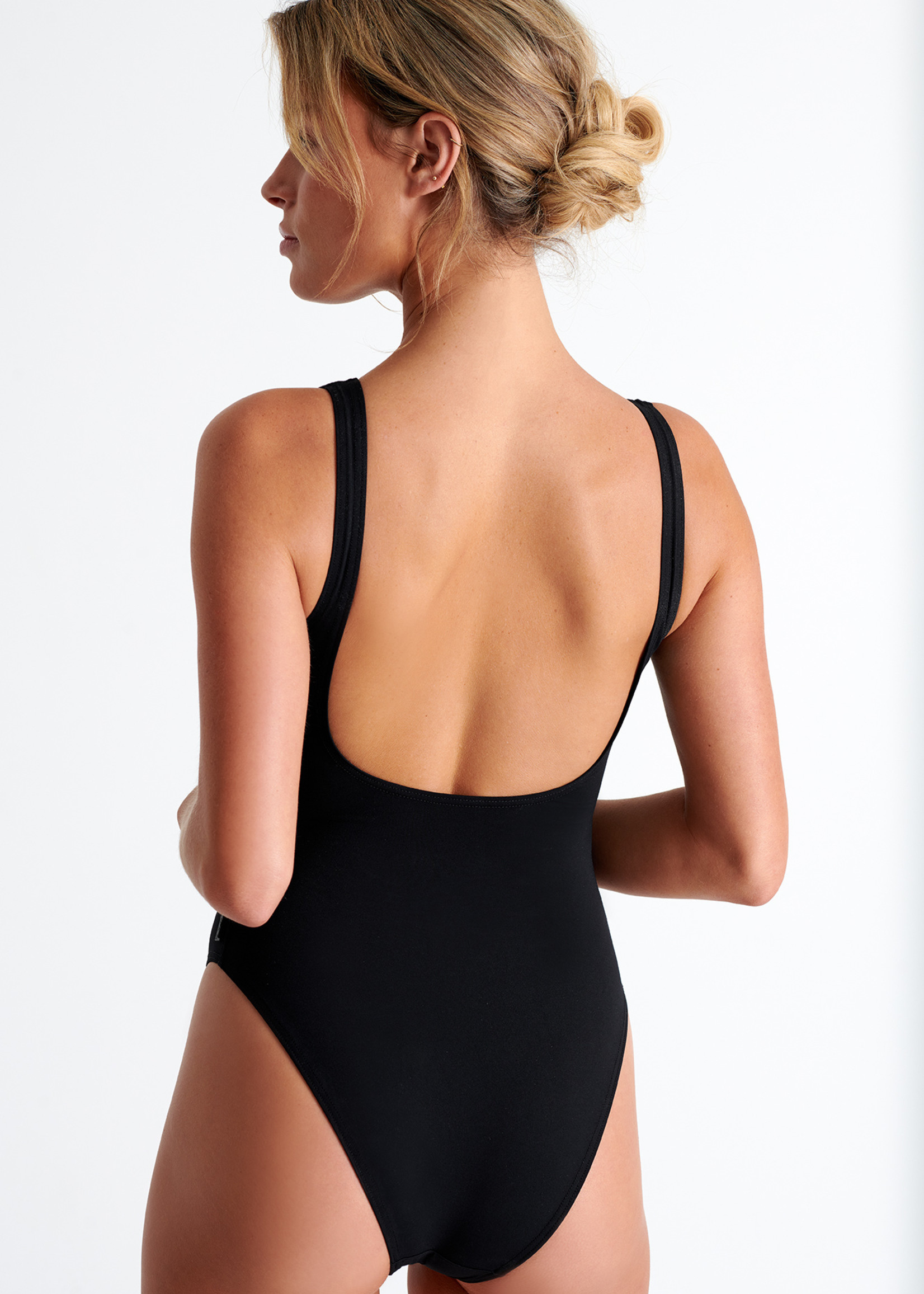 Shan Balnikko High-Neck Swimsuit
