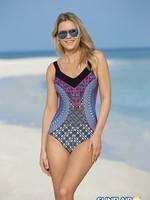 Sunflair Latin Art Mastectomy Swimsuit