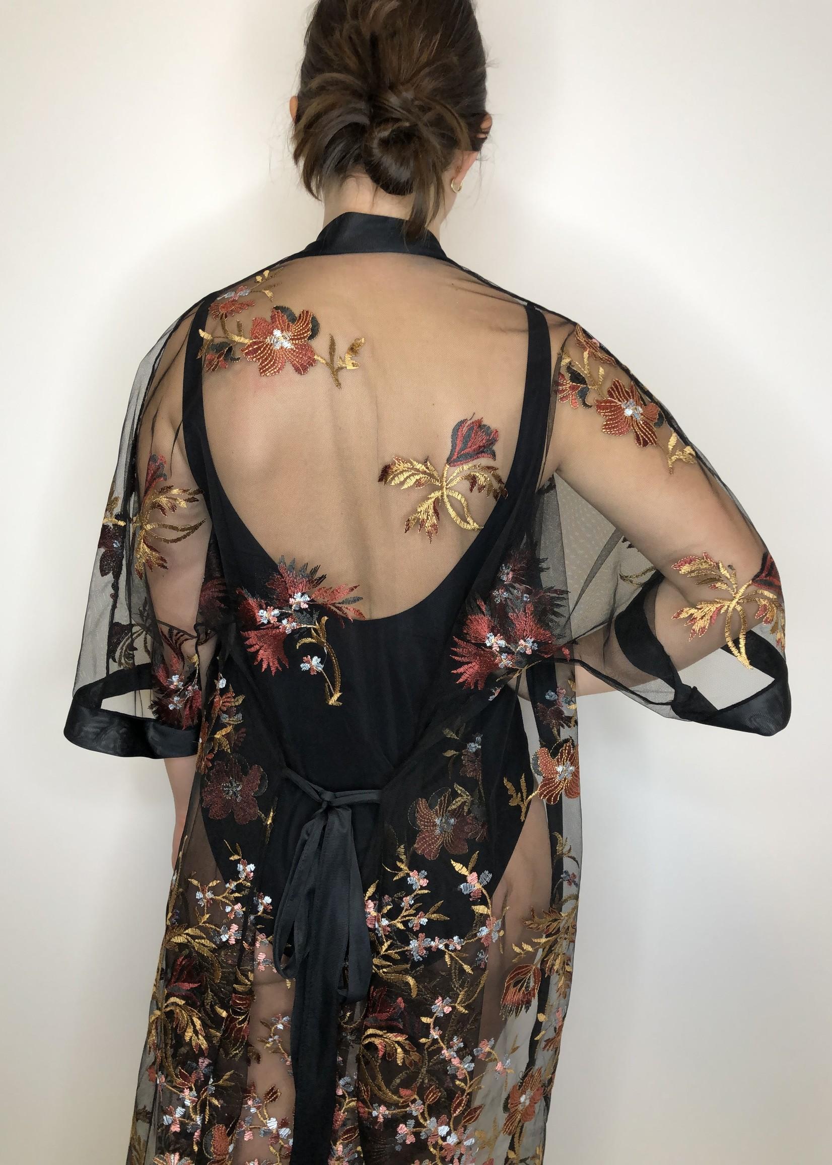 Bluana Floral Kimono