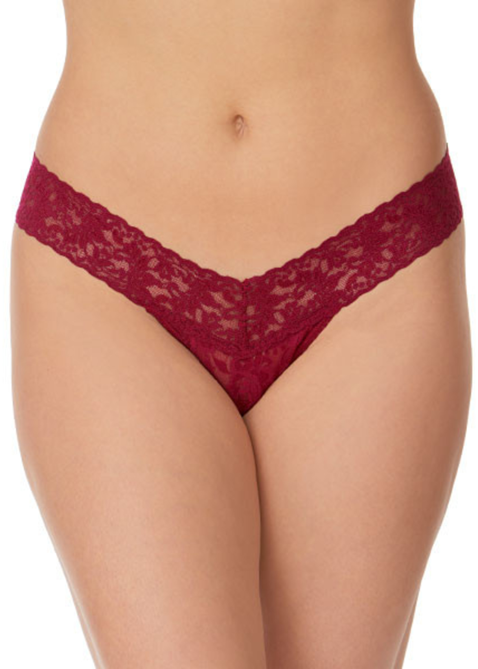 Hanky Panky Low Rise Thong: Fashion Solid