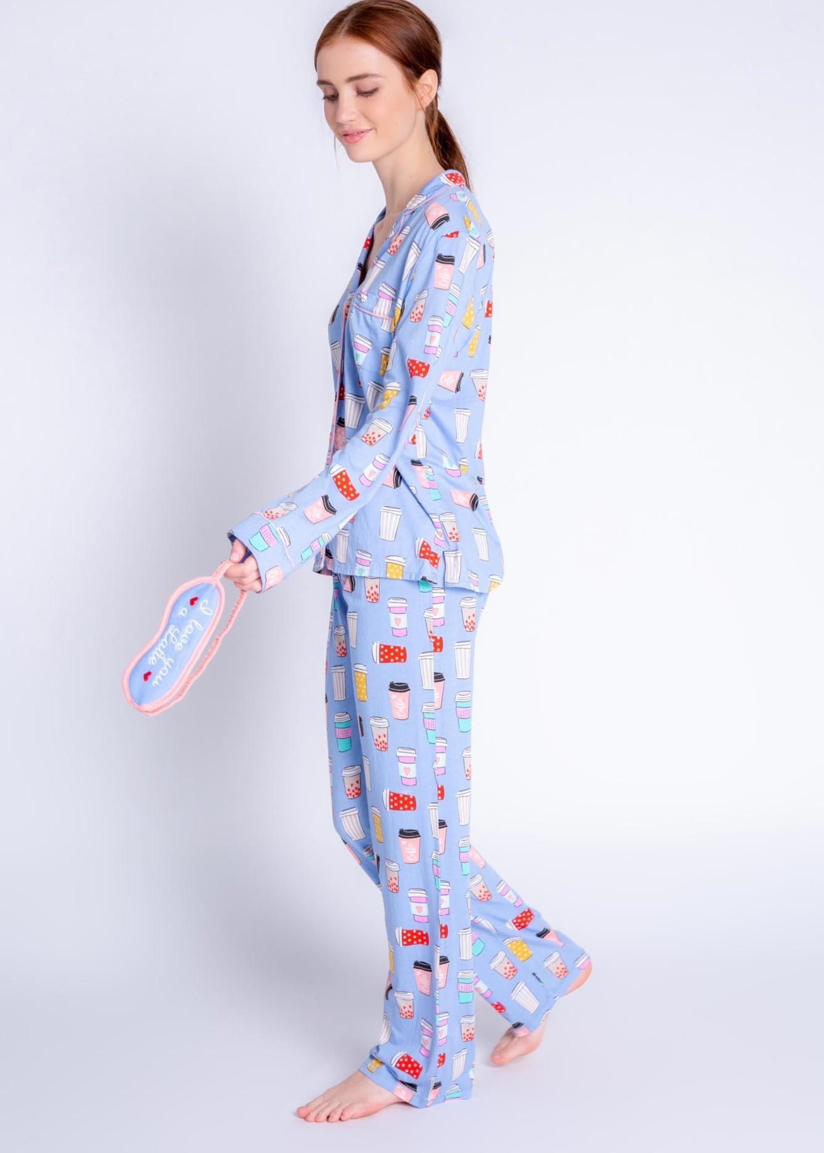 PJ Salvage Playful Prints PJ Set