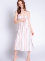 PJ Salvage Saturday Morning Stripe Dress