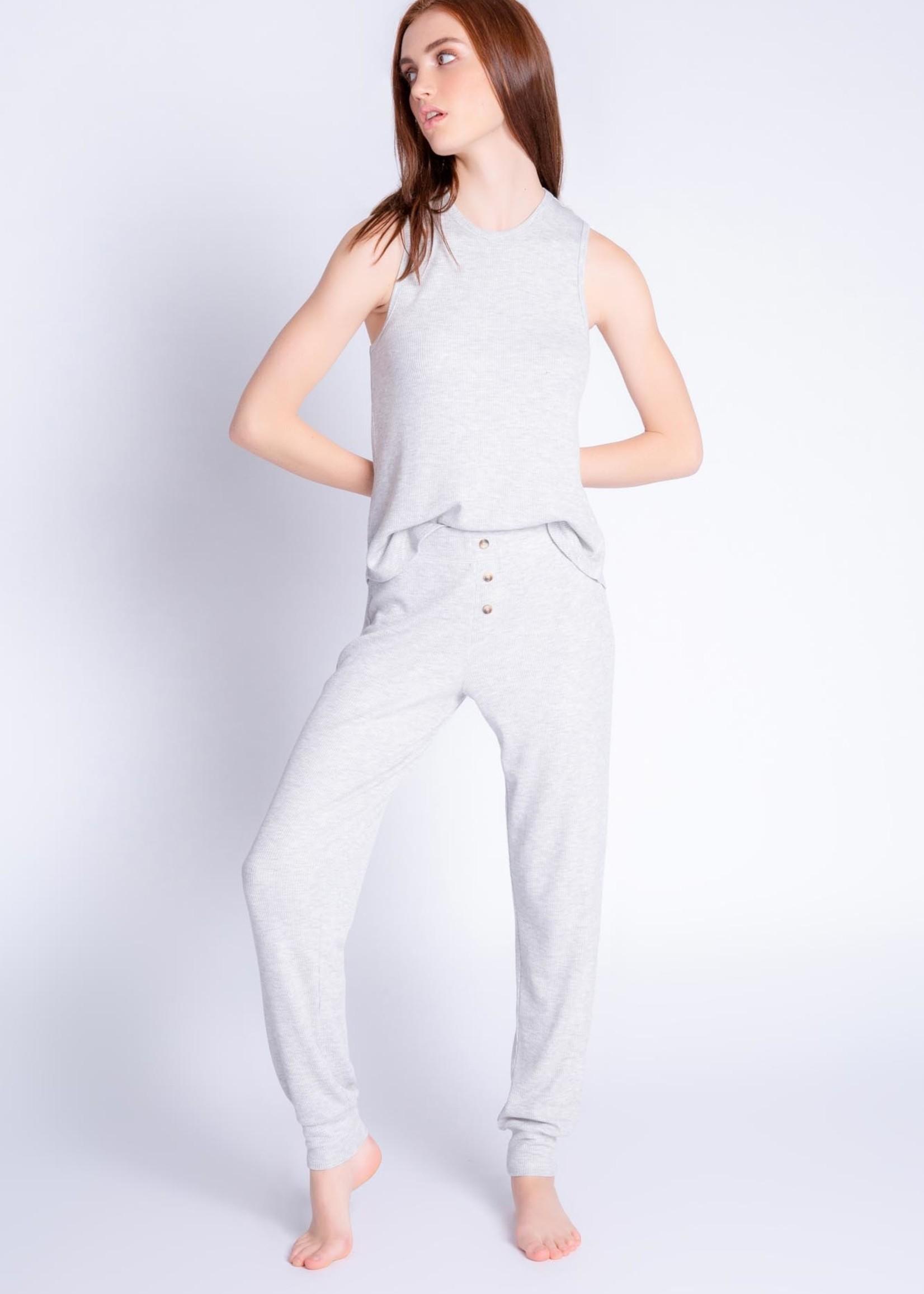 PJ Salvage Textured Lounge Pant Set