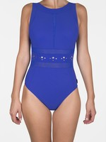 Shan So Sexy High Neck Swimsuit