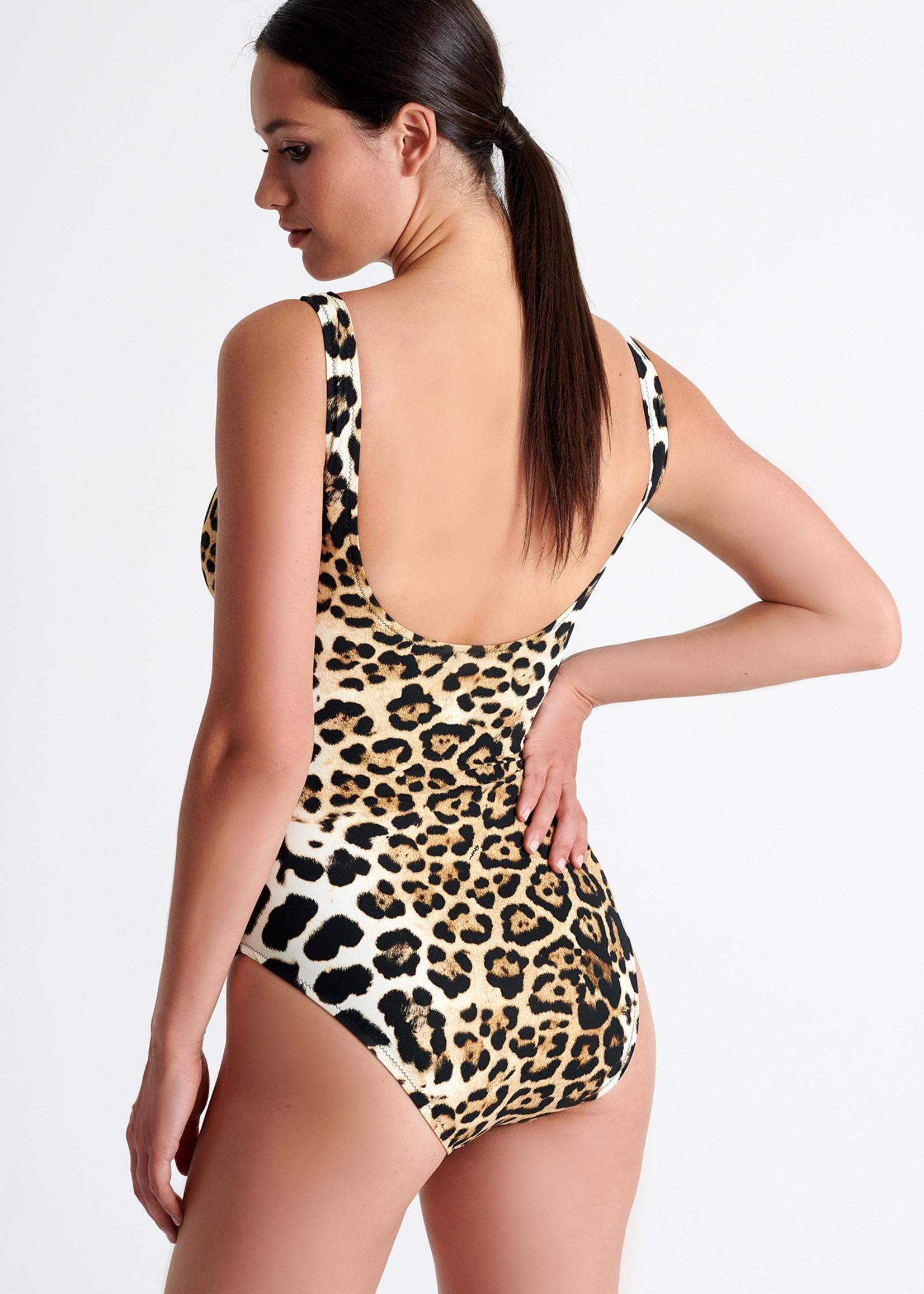 Shan Kawa Wrap Swimsuit